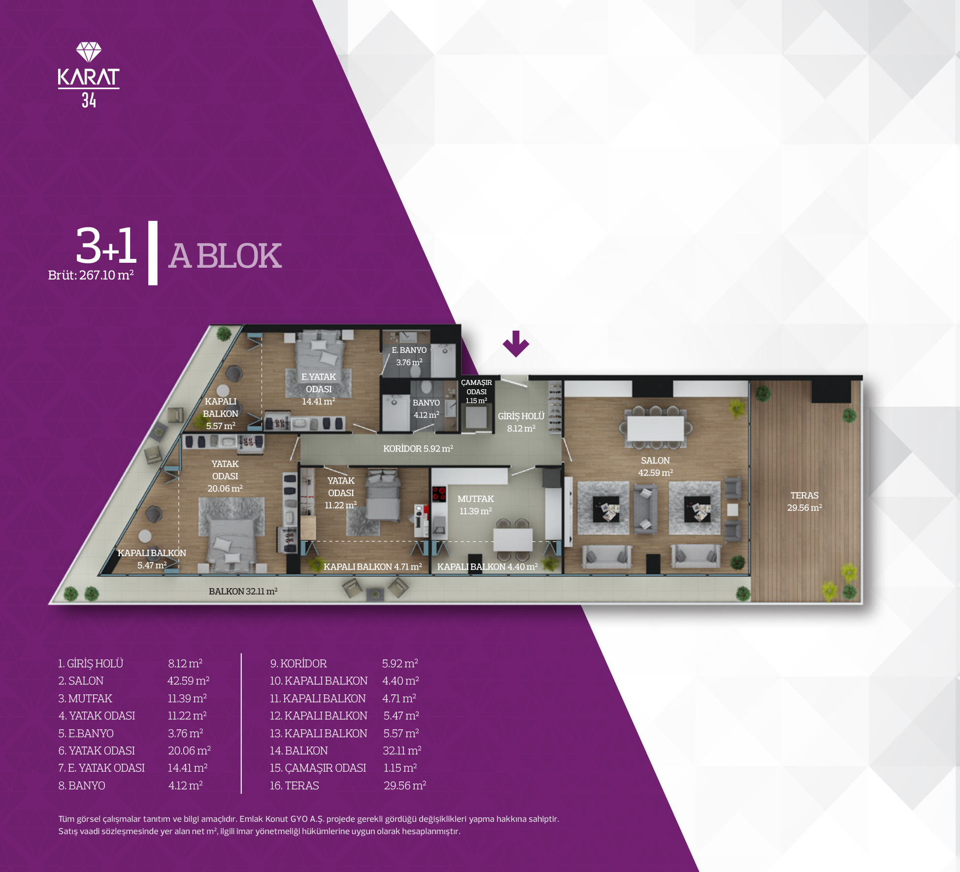 Karat 34 Istanbul Apartments For Sale In Istanbul Fin